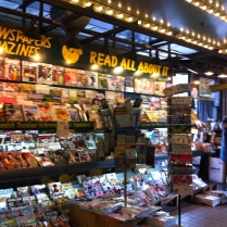 I was at this magazine store every morning