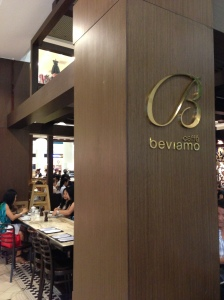 Caffe Beviamo, Tanglin Mall, Singapore : A simple but satisfying lunch