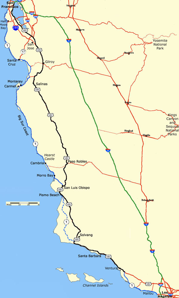 map-la-to-sf-routes