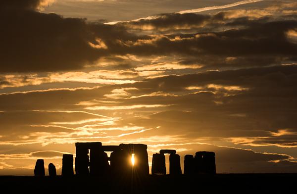 Stonehenge on the Salisbury Plain